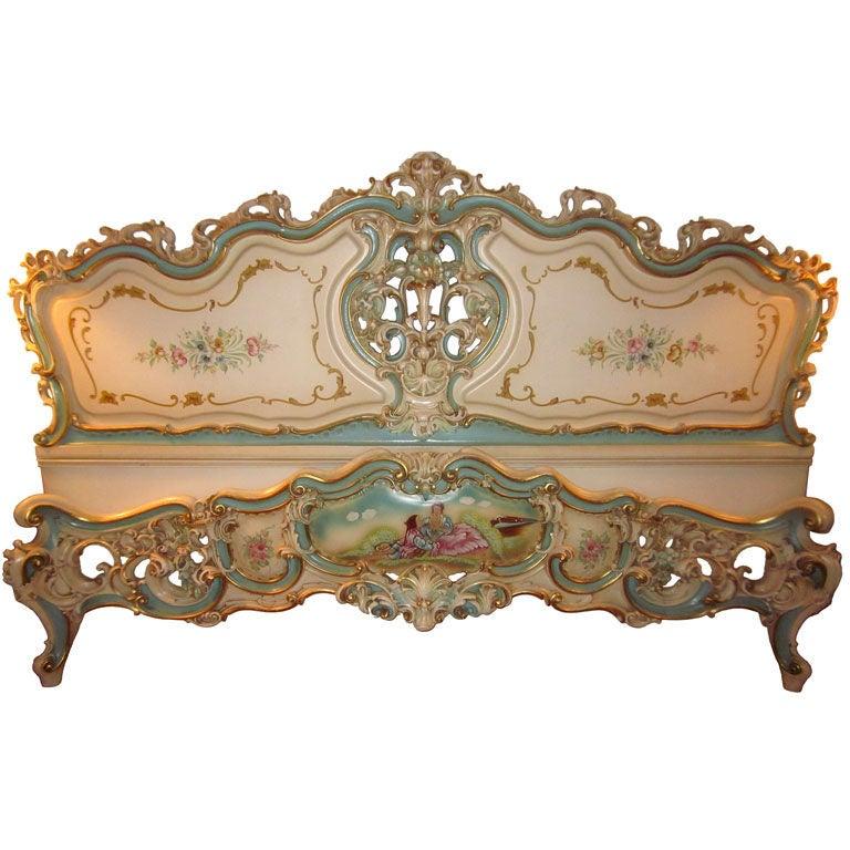 vintage italian venetian bed at 1stdibs