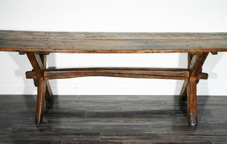 Sawbuck Table 2