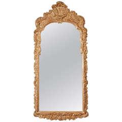 18th Century Gilt Mirror