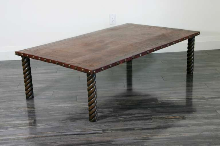 this leather top coffee table is no longer available