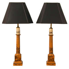 Pair of Regency Lamps