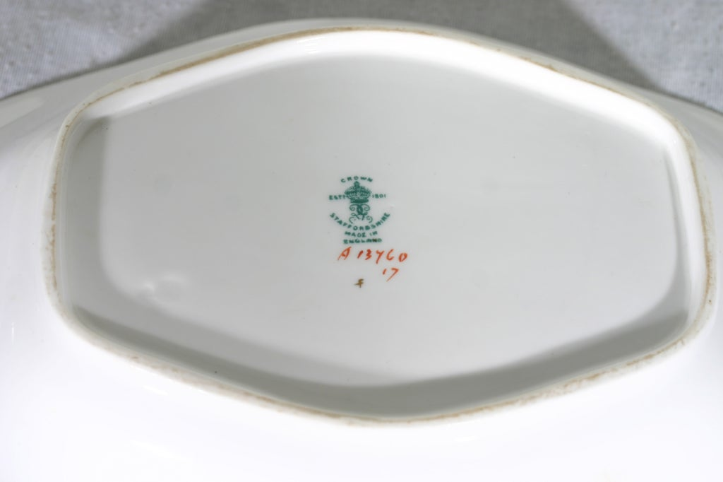 Staffordshire Porcelain In Excellent Condition For Sale In Mississauga, ON