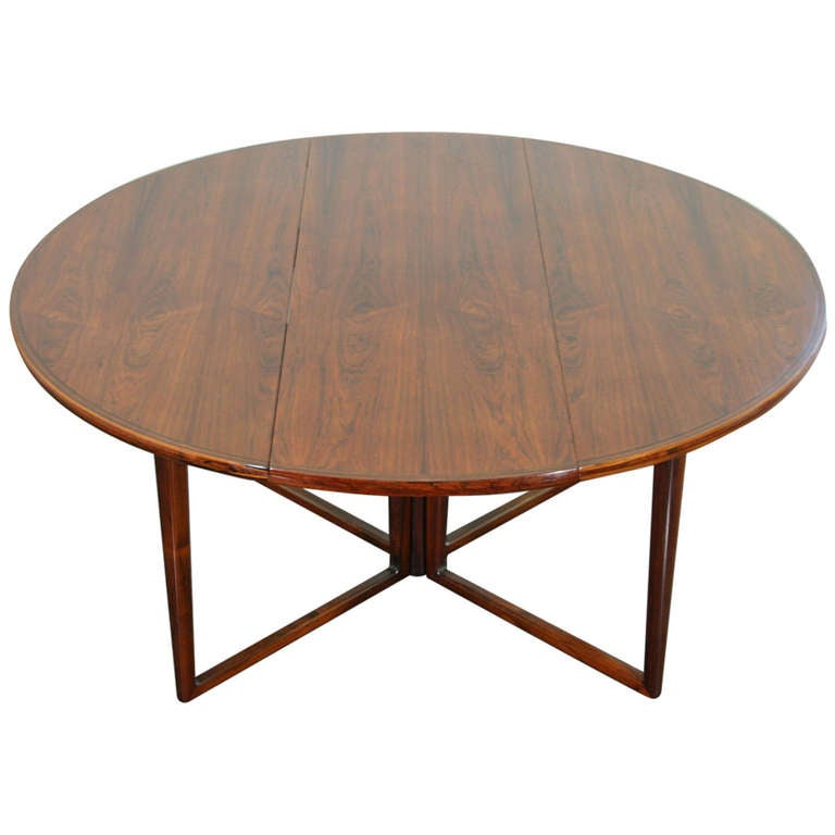 Very Rare Dining Table Designed By Helge Sibast Produced Mobler In De For