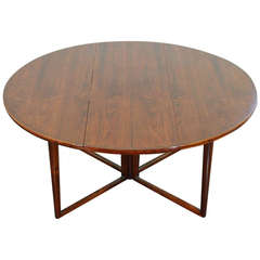 Very Rare Dining Table Designed by Helge Sibast, Produced by Sibast Møbler