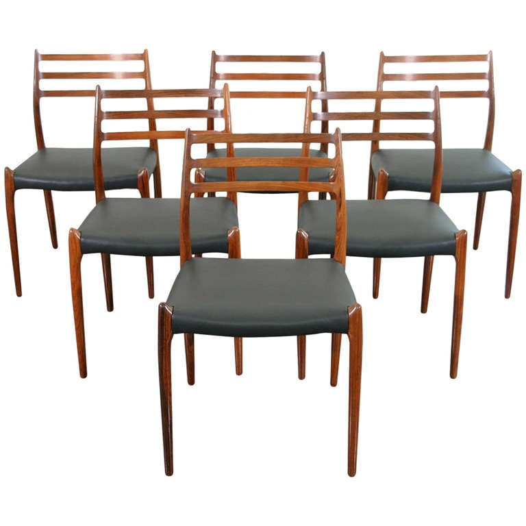 this set of six danish rosewood dining chairs is no longer available