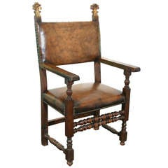 Italian 17th Century Armchair