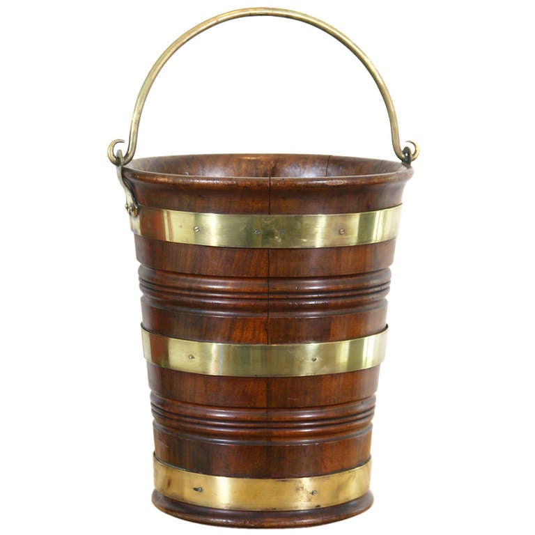 Late 18th Century Peat Bucket