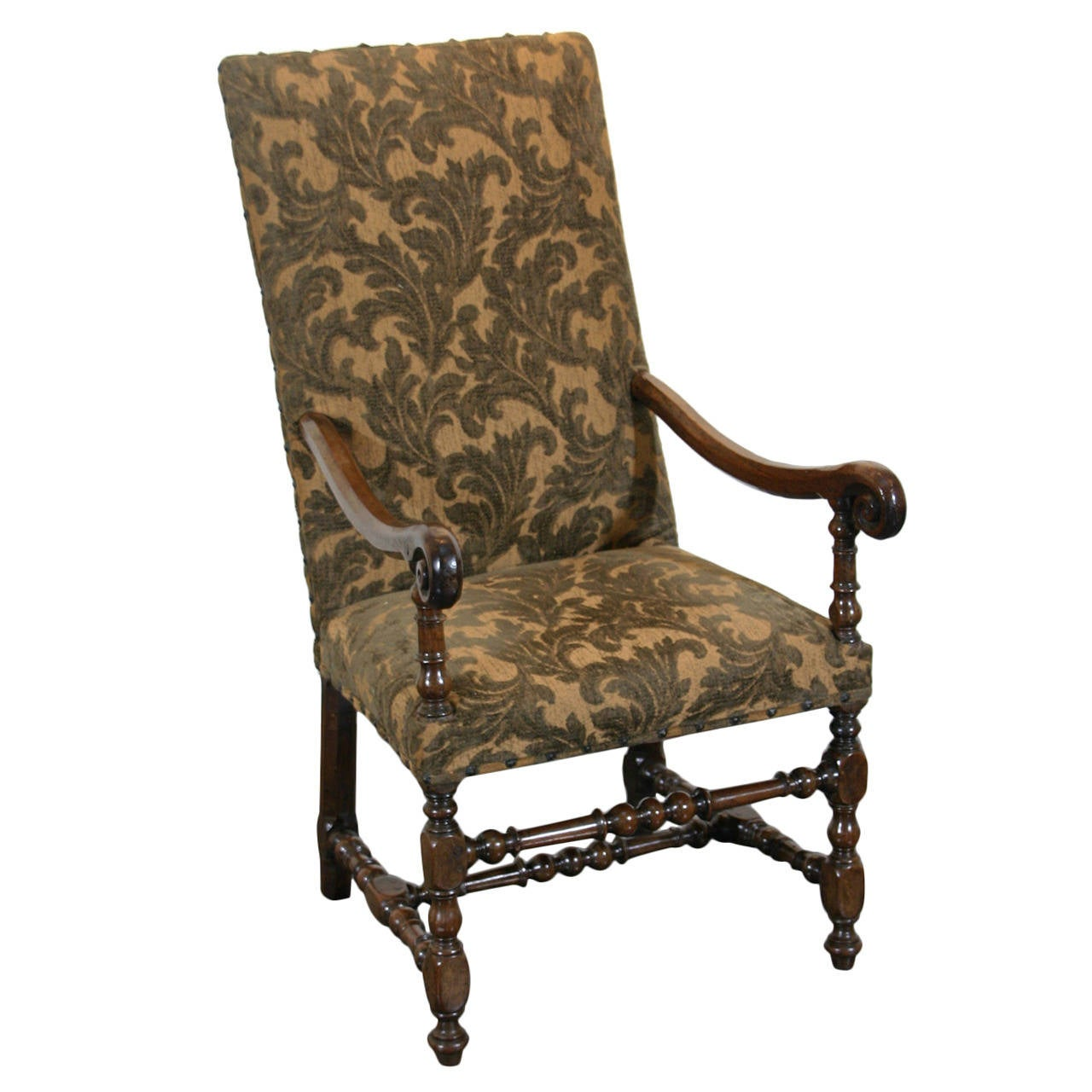 Superbe Baroque Armchair For Sale