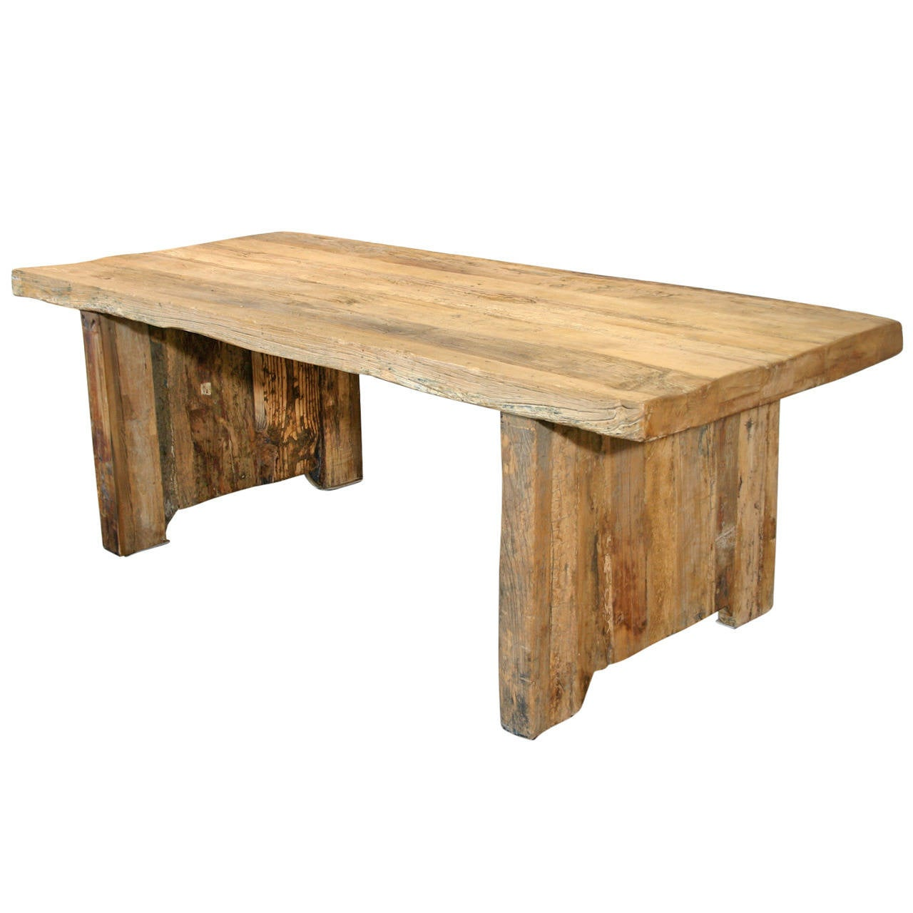 Rustic writing table at stdibs