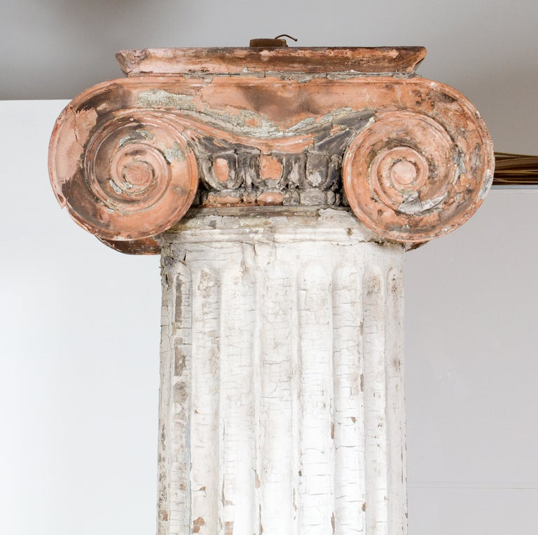 Neoclassical Ionic Column For Sale