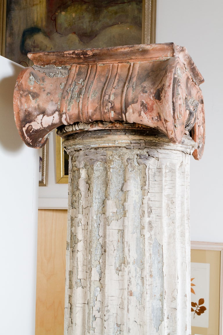 19th Century Ionic Column For Sale