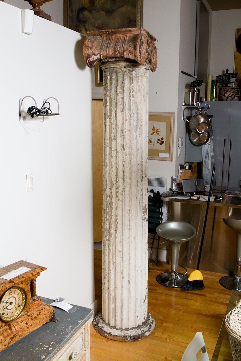 Terracotta Ionic Column For Sale