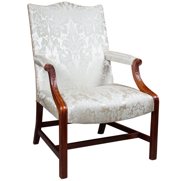 George Iii Style Gainsborough Chair At 1stdibs