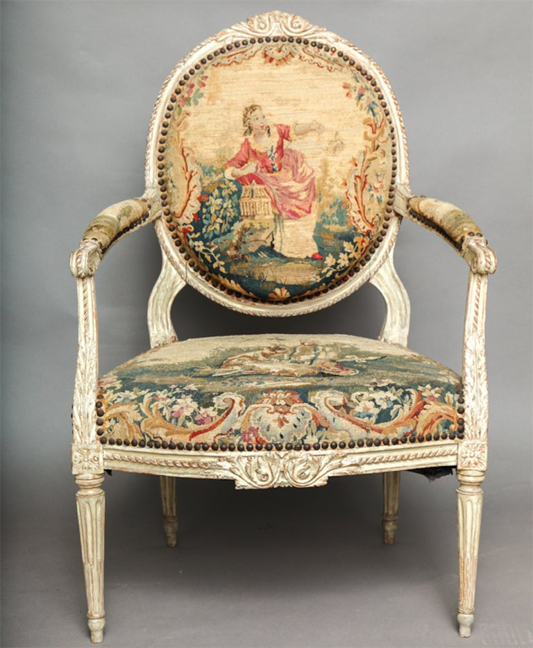Lovely Pair Of 18th Century Louis XVI Chairs 3