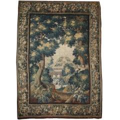 Beautiful 17th Century Flemish Verdure Tapestry