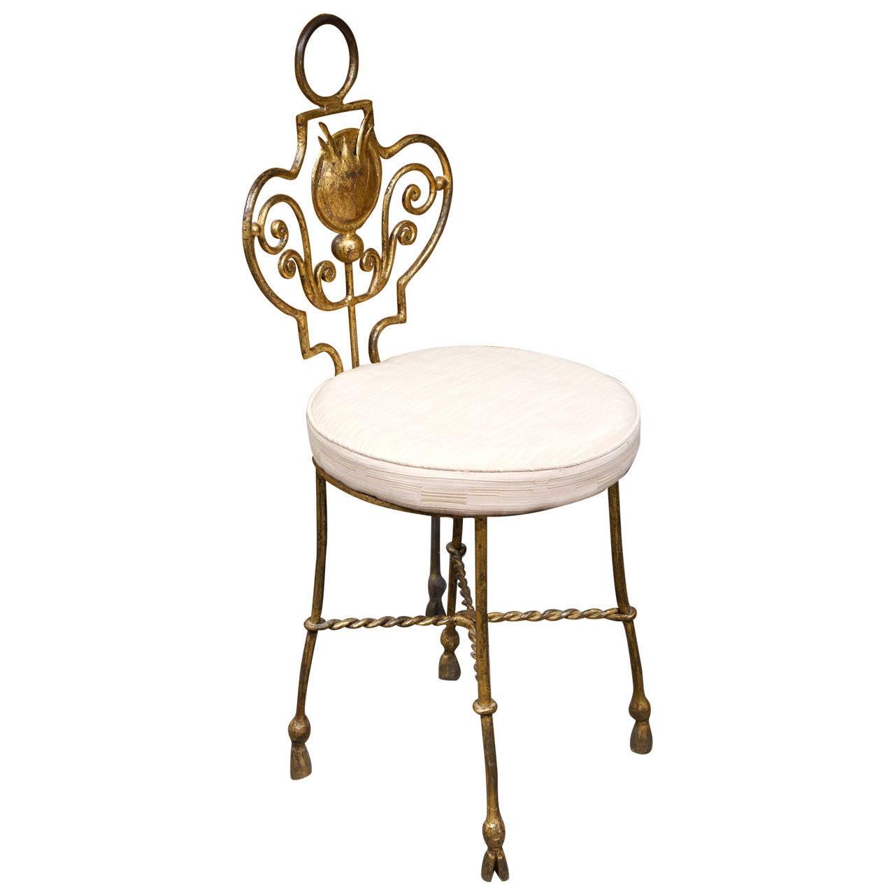 Vanity Chair at 1stdibs