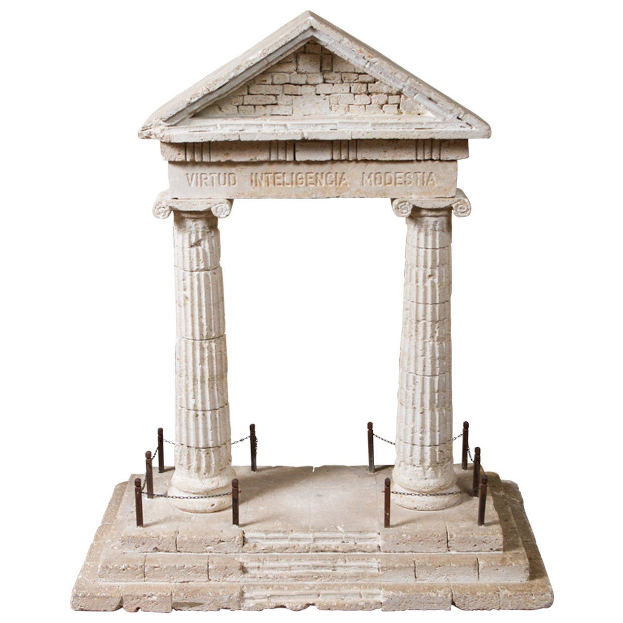 Grand tour scale model portico at 1stdibs Scale model furniture