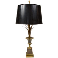 Elegant  Table Lamp Attributed to Maison Charles