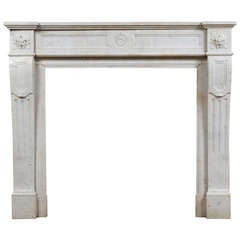 Louis XVI Marble Mantle