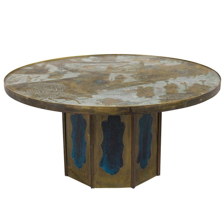 Chan Coffee Table By Philip And Kelvin Laverne For Sale At 1stdibs