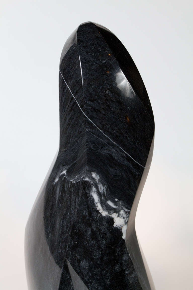 Canadian Abstract Marble Sculpture For Sale