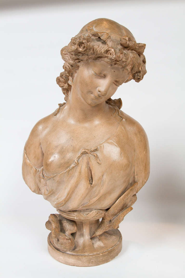 Louis Xvi Style Busts After Claudion For Sale At 1stdibs