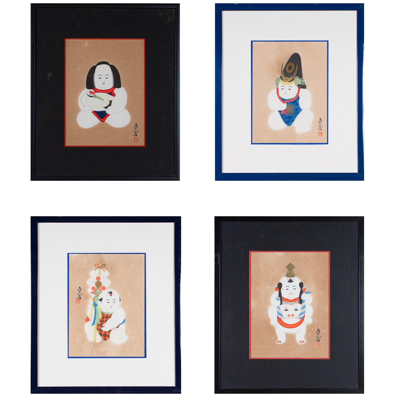 Set of 16 Mid-20th Century Prints