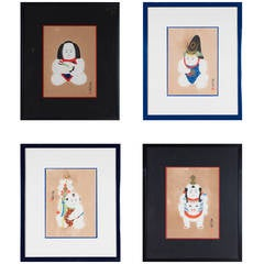 Set of 16 Meiji Prints