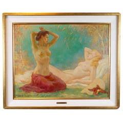 Painting of Appeasing Nudes by Adam Sherriff Scott