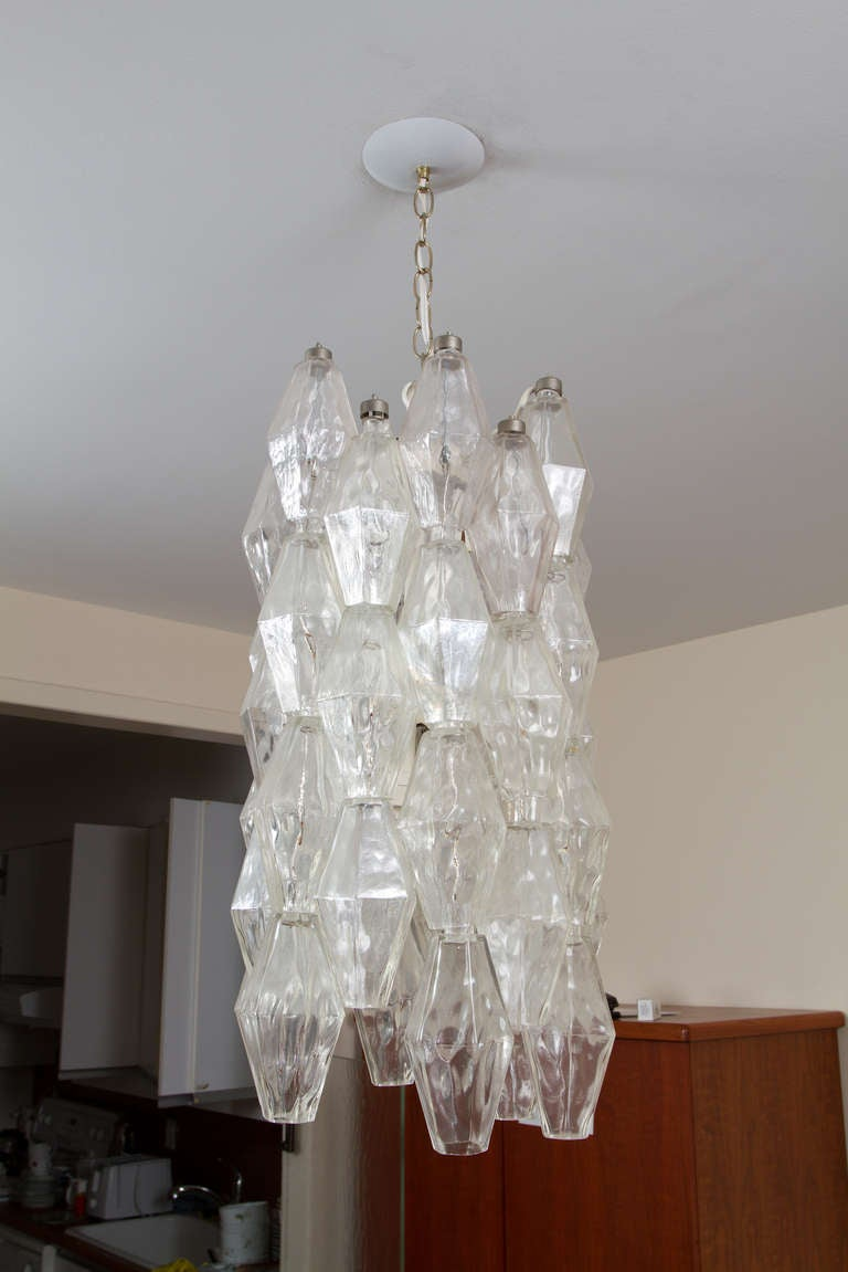 Mid-Century Modern Murano Chandelier For Sale