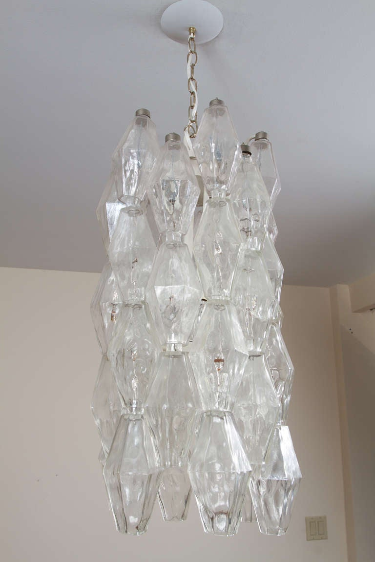 Italian Murano Chandelier For Sale