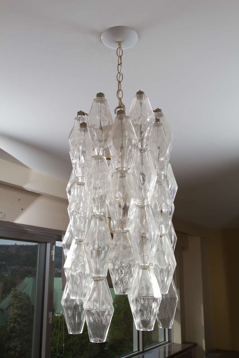 Murano Chandelier In Good Condition For Sale In Montreal, QC