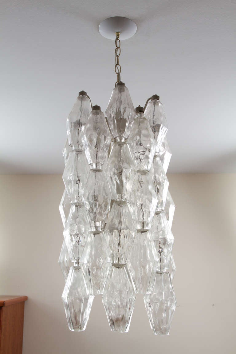 Mid-20th Century Murano Chandelier For Sale
