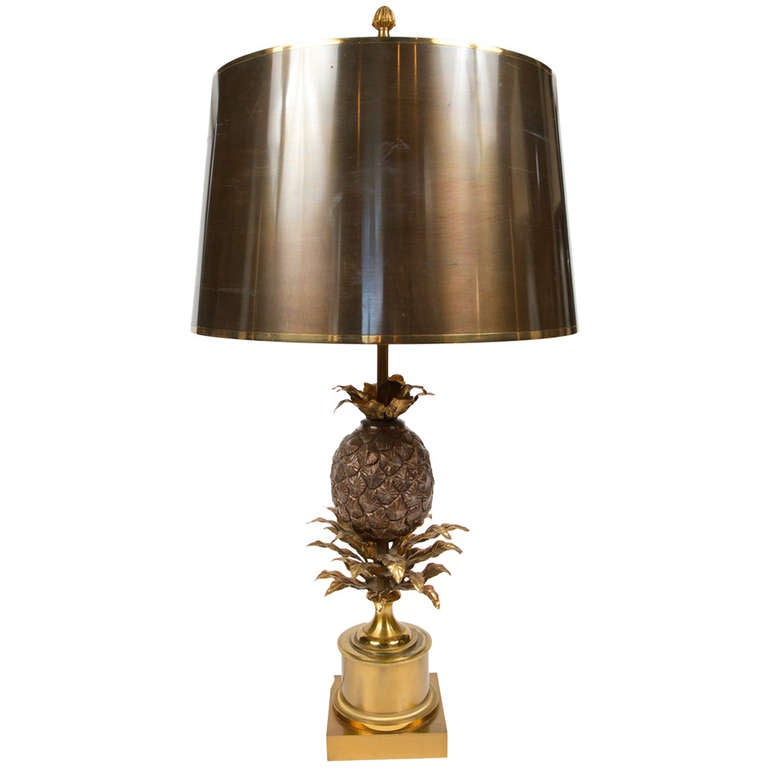 unique brass table lamp by maison charles for sale at 1stdibs