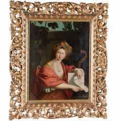 Beatiful Grand Tour Oil Painting