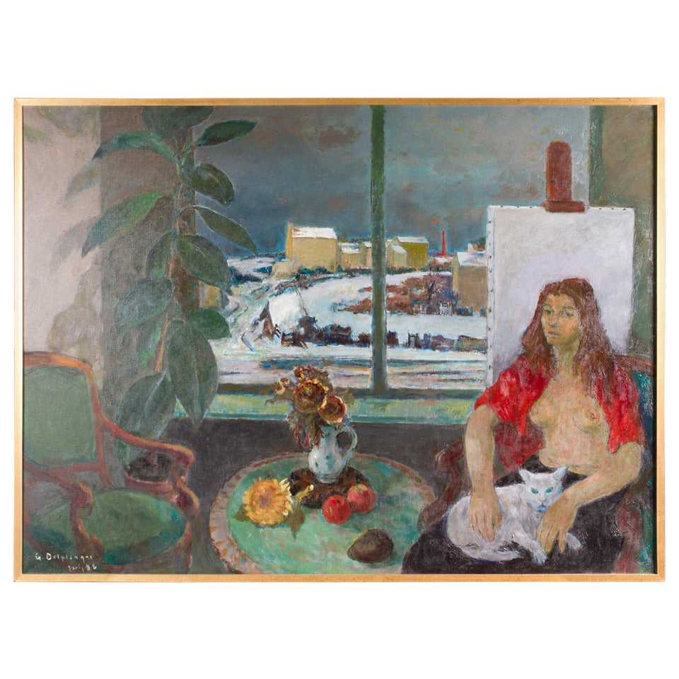 Oil on Canvas by Georges Delplanque