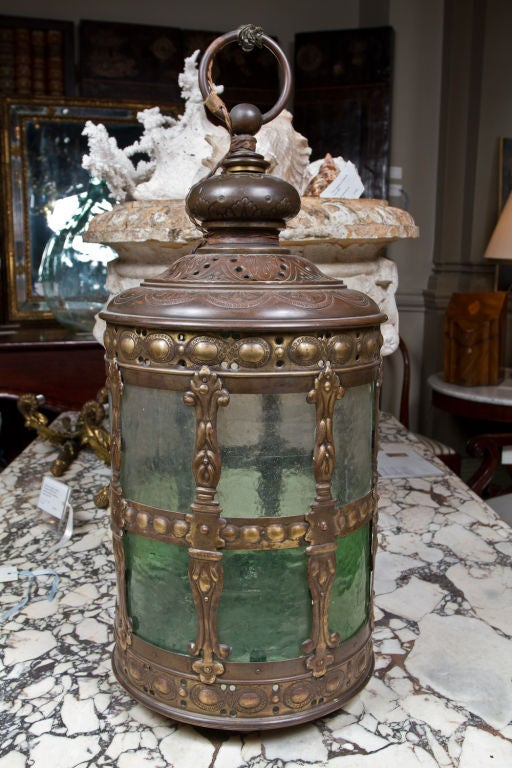 Beautiful 18th Century Dutch Brass Hall Lantern At 1stdibs