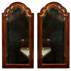 Pair of Queen Anne Style Mirrors