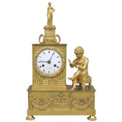 Fine Empire Mantel Clock