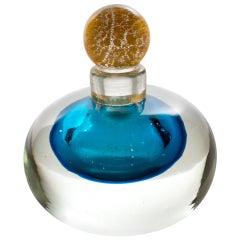 Murano Sommerso Perfume Bottle