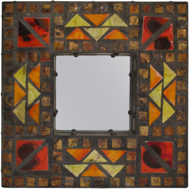 Mosaic Mirror For Sale