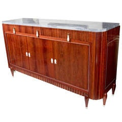 Exceptional Art Deco Rosewood Buffet by Christian Krass