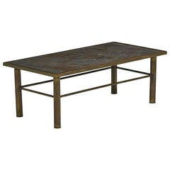 Rectangular Chan Coffee Table by Philip and Kelvin Laverne