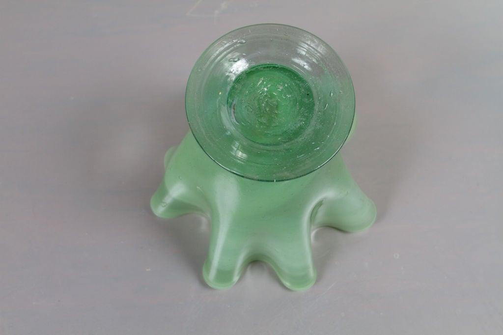 Italian Art Glass Vase For Sale 2