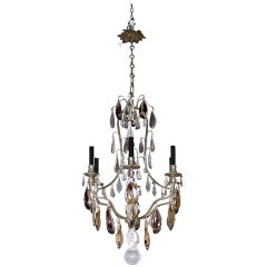 French Six Light Chandelier