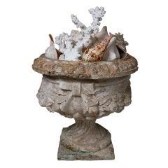 Large English Terracotta Urn