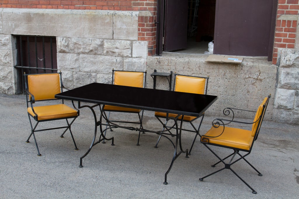 Hollywood Regency Style Dining Set For Sale At 1stdibs