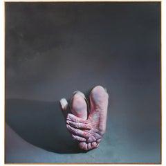 """Hyperrealist Painting By Istvan Sandorfi """"Lulu"""""""