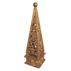 Gilt-wood Obelisk