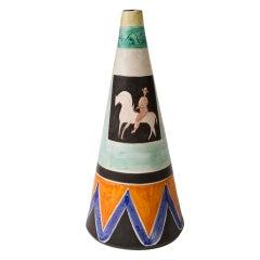 Italian 1950's Ceramic Vase